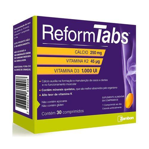 Reform-Tabs-Com-30-Comprimidos